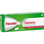 PANADOL PARACETAMOL TABLETS 500MG PACK 20