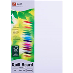 QUILL XL MULTIBOARD 200GSM A4 WHITE PACK 100