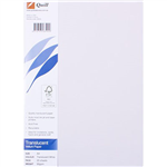 QUILL VELLUM TRANSLUCENT PAPER A4 WHITE PACK 25