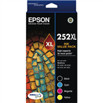 EPSON 252XL INK CARTRIDGE HIGH YIELD VALUE PACK BLACKCYANYELLOWMAGENTA
