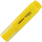 INITIATIVE HIGHLIGHTER CHISEL YELLOW