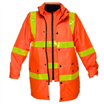 PRIME MOVER MJ885 DAYNIGHT HI VIS 4IN1 JACKET WITH MICRO PRISM TAPE FULL COLOUR