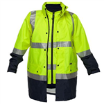 PRIME MOVER MJ887 ANTI STATIC 4IN1 JACKET WITH ZIP 2 TONE
