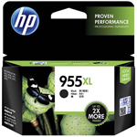 HP L0S72AA 955XL INK CARTRIDGE HIGH YIELD BLACK