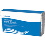 INITIATIVE INTERLEAVED HAND TOWEL 220 X 235MM 150 SHEETS
