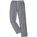 PORTWEST C079 BROMLEY CHEFS TROUSERS CHECK
