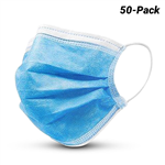 RAPTOR 50PK  3 PLY DISPOSABLE FACE MASK