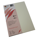 QUILL PARCHMENT CARD 176GSM A4 WHITE PACK 50