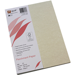 QUILL PARCHMENT PAPER 90GSM A4 NATURAL PACK 100