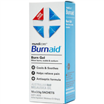 BURNAID GEL SACHETS 35G BOX 10